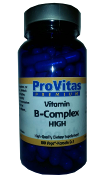 Vitamin B Komplex high, 100 Vega Kps.