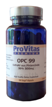 OPC 99 High, Pine Bar Extr., 100 Vega Kps. á 300 mg