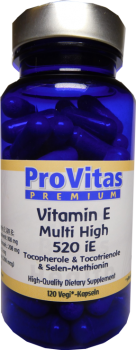 Vitamine E 520 Complex Multi High, 520 iE, 120 Vega Kps.