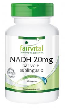 NADH (Fairvital) 20 mg, 60 Tabl., sublingual