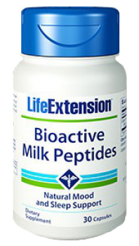 Milch Peptide (LifeExtension), a 150 mg, 30 Vega Kps.