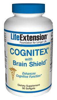 Cognitex with Brain Shield (LifeExtension), 90 Soft Gels
