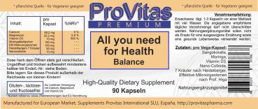 All You Need For Health Balance, 90 Kps.