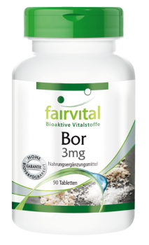Bor Fairvital, 3 mg, 90 Tbl.