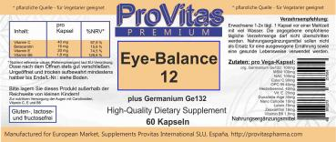 Eye Balance 12 plus GE, 60 Vega Kps.