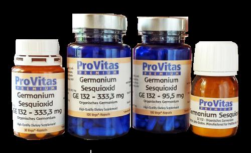 provitas nahrungserg nzung supplements f r ihre gesundheit germanium sesquioxid ge132. Black Bedroom Furniture Sets. Home Design Ideas