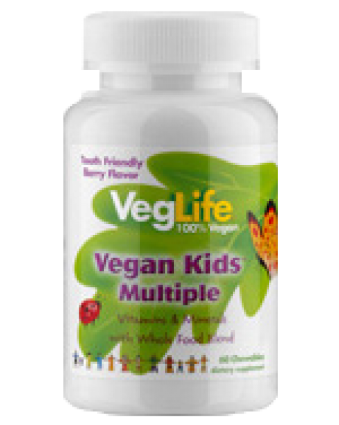 Multi Vitamin Vegan Kids Multiple, 60 Kau Tabl.